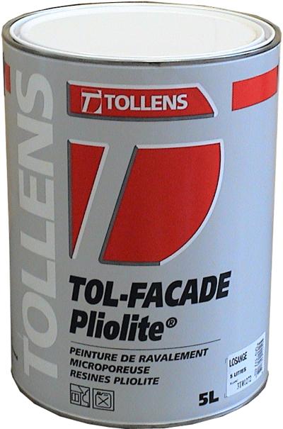 Tol fa ade pliolite tollens for Peinture facade tollens